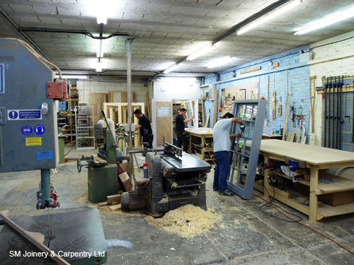 Joinery shop